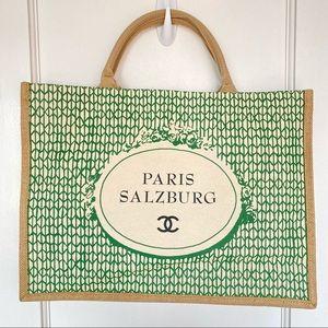 Chanel Paris Salzburg Canvas Tote